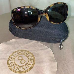 "Morgenthal Frederics ""186"" Sunglasses in Tortoise"